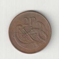 2 пенни 1980 года Ирландии