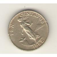 10 сентимо 1962 г.
