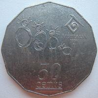 Австралия 50 центов 1994 г. Семья (d)
