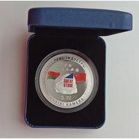 Футляр к монете, ячейка 58.00 мм синий