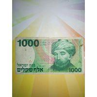 Израиль 1000шекелей 1983г