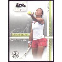 2007 Ace Authentic карточка MeilenTu теннис