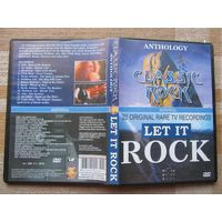 DVD CLASSIC ROCK ANTHOLOGY (Asia, Gillan, Uriah Heep, Saxon и др.) – LET IN ROCK (Free, Deep Purple, Meatloaf, Alice Cooper, Who, Motorhead, Jethro Tull, Yes и пр.)