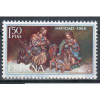 ИСПАНИЯ, 1966, Рождество Религия **