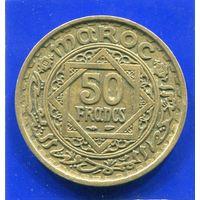 Марокко 50 франков 1952