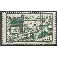 Французское Марокко. Форт Удайя. 1939г. Mi#150.
