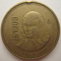 Мексика 1000 песо 1988 г. (d)