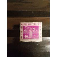 1959 ГДР спорт концовка Мих 711 оценка 2,2 евро чистая клей MNH** (1-л1)