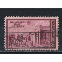 США 1946 100 летие захвата Стивеном Карни Санта Фе #550