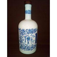 Очаровательная бутылка штоф с охотничьим мотивом 0,75 л Earl Grey Delft охота