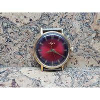 Часы Луч,позолота au20,тонкие,редкие.Старт с рубля.