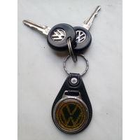 """Оригинальные ключи от,,Фолькса""""c брелком"""