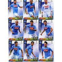 Коллекция PANINI Лига Чемпионов УЕФА 2011-2012. Adrenalyn XL // Napoli // Lavezzi