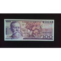 100 песо 1974 года. Мексика. UNC. Распродажа