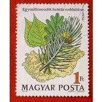 Венгрия. Флора. ( 1 марка ) 1976 года.