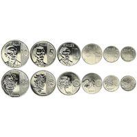 Филиппины полный набор 6 монет 2017-2018 НОВИНКА