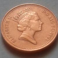 1 пенни, Великобритания 1993 г, AU