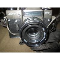 Фотоаппарат Зенит ЕТ с объективом МС Гелиос 44М-4.