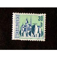 Марка Чехословакии-1965- Чешские города