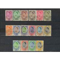 Таиланд 1961 Рама IX Бхумипол Адуладеж Стандарт #358-65,367-72,374