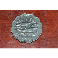 Багамы 10 центов 1989
