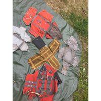 Из прочнейшей ЧЕШСКОЙ  спец.ткани-негорючей и непромокаемой,ранец  запасного парашюта лётчика СССР