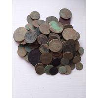 Монеты 136 шт.
