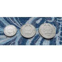 Монголия 10, 15, 20 менге 1981 года