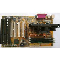 Acorp 6BX81 ver.1.5 + 3 DIMM 192 mb + PIII-600E (до 733-800) SL43E Slot 1