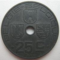 Бельгия 25 сентим 1944 г. (d)