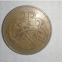 2 пенса Ирландия, 1971