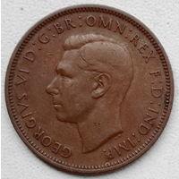 Великобритания 1/2 пенни 1947
