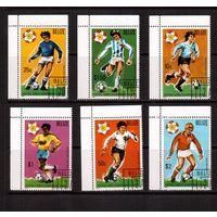 Белиз-1981,(Мих.614-619) гаш., Спорт,футбол(2)