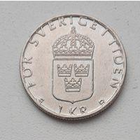"Швеция 1 крона 1998 ""D""_ KM#852 (1982–2000 г.)"