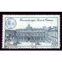 1 марка 1990 год Италия Университет 2164