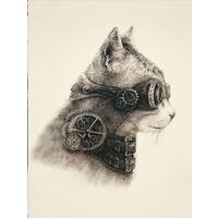 Наволочка Супер кот, Матренин Посад