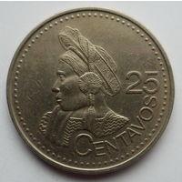 """Гватемала 25 сентаво 2000 """"Образ национальной женщины"""""""
