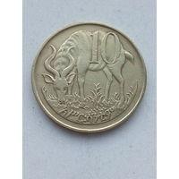 Эфиопия 10 сантимов 1977