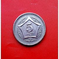 80-18 Пакистан, 5 рупий 2006 г.