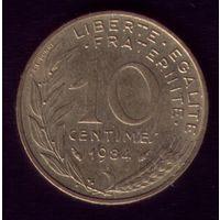 10 сантимов 1984 год Франция