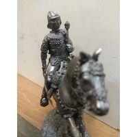 Солдатик оловянный(военно-историческая миниатюра) конный гетман Речи Посполитой
