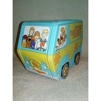 Жестяной автобус шкатулка сундучок Скуби-Ду Scooby-Doo