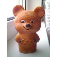 Олимпийский мишка (медведь) резиновый