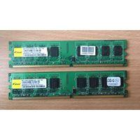 Оперативная память DDR2 2x1Gb Elixir PC-6400 M2Y1G64TU8HB5B-25C