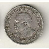 Кения 50 цент 1975
