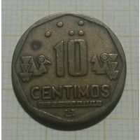 Перу 10 Сентимо 1996