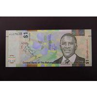 Багамские острова 1 доллар 2017 UNC