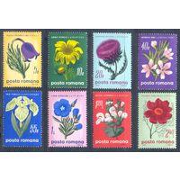 Румыния 1970 Цветы, 8 марок