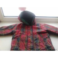 Куртка для дачи до 3 лет
