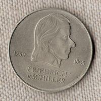 Германия ГДР 20 марок 1972/Фридрих Шиллер/(Oct)